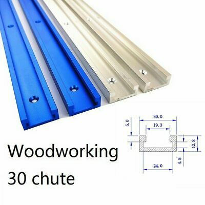 Aluminium 600mm T-Track T-Slot Miter Jig Fixture Tool Fr Woodworker Router Table • 11.99£