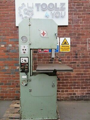 Midsaw 'Minor Super' 3 Phase Toolroom Vertical Bandsaw 3 Phase Fully Working • 1,500£