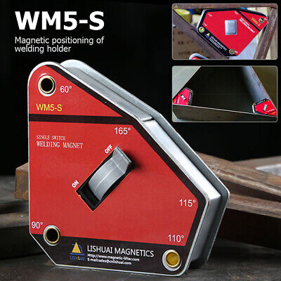 Magnetic Multi-angle Strong Welding Holder Single Switch Magnet Welding Clamp • 28.99£