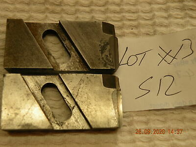 David Brown Floating Reamer Blades 1 Pair S12 Carbide Tipped Used Lot #3 • 23£