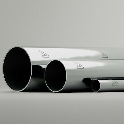 Aluminium Round Tube Alloy Metal Pipe 1 METER LONG 1m Alloy 6mm Upto 102mm • 23.69£