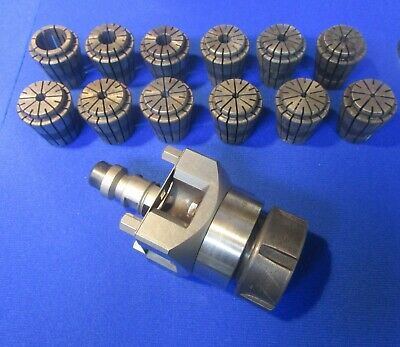 Erowa ER-093999 Collet Chuck Holder 50 C With 12 Collets • 350£
