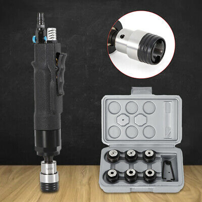 200/400rpm Pneumatic Tapping Machine Air Drill Tapper Kit W/ M3-M12 Chuck 3-16mm • 113.01£