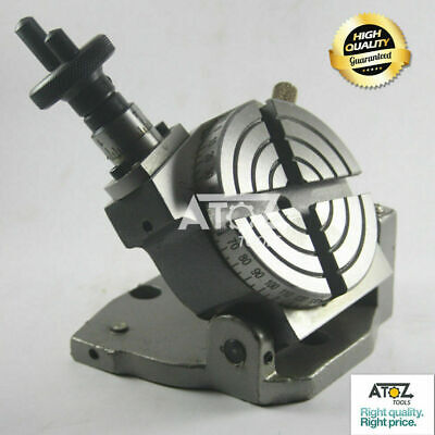 3  Rotary Table (Tilting) 4 Slots From 0 To 90 Degree Premium Quality UK SHOP • 68.90£