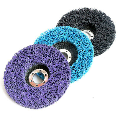 Abrasive Wheel Angle Grinding Strip Disc Poly Rust Paint Removal Disc Clean Tool • 5.38£