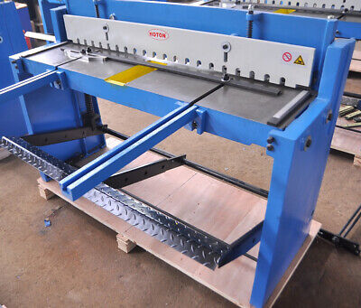 New Sheet Metal Guillotine Foot Operated 1.5mm Shear Thickness 1320mm Lengh • 2,350£