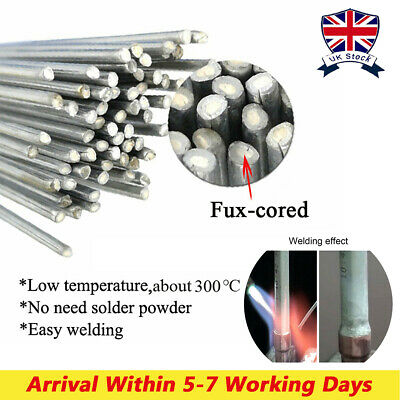 Aluminum Brazing Solution Welding Flux-Cored Rods Low Temperature Wire Home • 13.99£