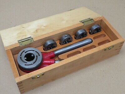 Lyndon 1/8  - 1/2  BSP Die Hand Pipe Threader In Box In Great Condition • 84£