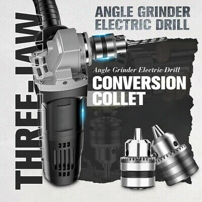 Angle Grinder Electric Drill Conversion Collet Stand Woodwork Tool Screwdriver • 14.34£