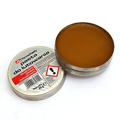 New Flux Soldering Paste In The 20g Tin For Electronics SMD Plumbing DIY Etc • 2.05£