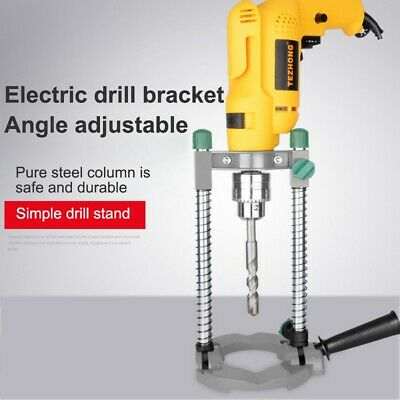 New Bench Drill Press Holder Grinder Bracket Table Stand Clamp Electric Repair • 25.64£