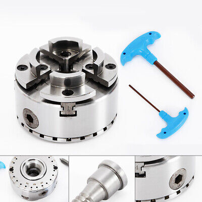 Self-centering Adjustable 4-jaw 3.75  Chuck M33 Thread For Lathe M33 Woodturning • 87£