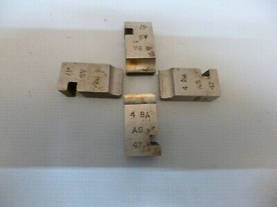 4BA Dies / Chasers To Fit Coventry Die Head  MADE BY AH • 5£