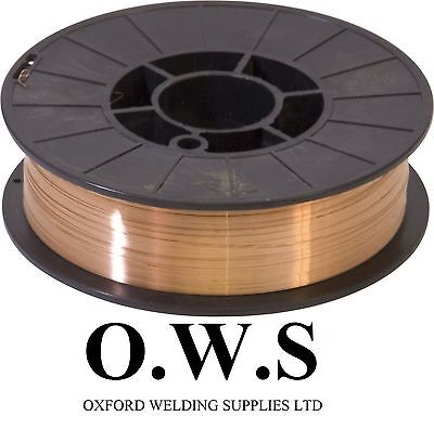 Precision Layer Wound Copper Coated Mild Steel Mig Welding Wire 15KG CE APPROVED • 36£