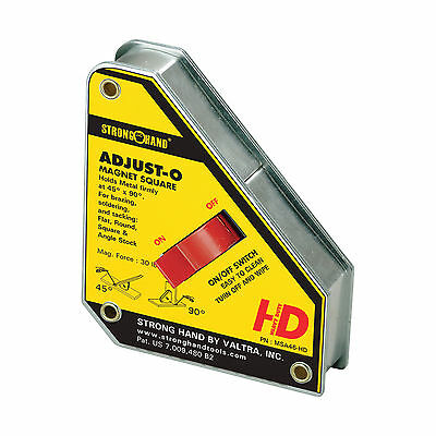 StrongHand Adjust-O Magnet Square With On/Off Switch SMALL Welding MIG TIG ARC • 37.25£