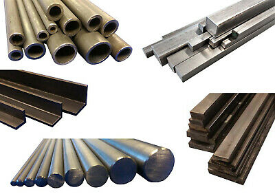 Bright Mild Steel EN1A EN3B Round, Square, Flat, Tube/Pipe & Equal Angle 4-25mm • 3.65£