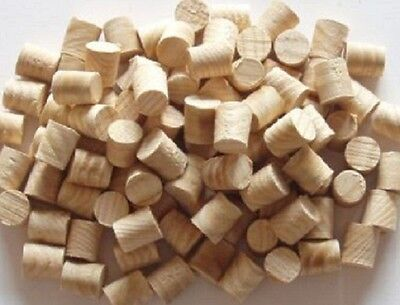 10mm Pine Softwood Tapered Tip Plugs / Pellets = Packs Of 10-20-50-100 • 13.95£