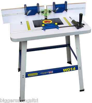 Charnwood W014p Floor Standing Router Table - Will Fit Any 1/4  + 1/2  Router • 234£