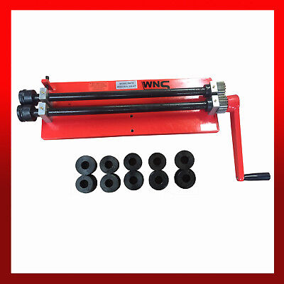 WNS Bead Roller Former Swager Rotary Swaging Machine 457mm 18  1.2mm 6 Roll Sets • 270£