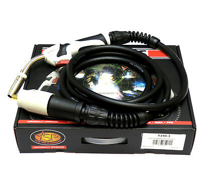 Starparts Titanium Air Cooled Mig Welding Torch ~ T250-3,4,5 Metre Euro Fitting • 56£