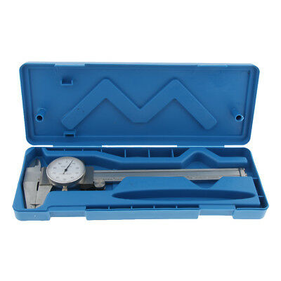 Professional Stainless Steel Dial Vernier Caliper Depth Gauge Inch 0-6  • 20£