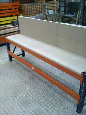 Very Heavy Duty Pallet Racking Work Bench/workstation/packing Table • 230£