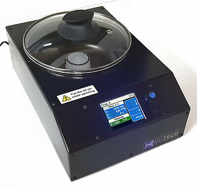Mutech Microcoater Digital Spin Coater With Vacuum Chuck,3 Adapters And Programs • 1,288.01£