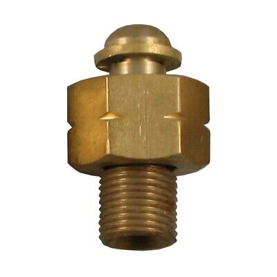 Brass BSP Straight Hose Adaptors Converts 1/4 Female Hose To Fit 3/8 Male Torch • 4.25£