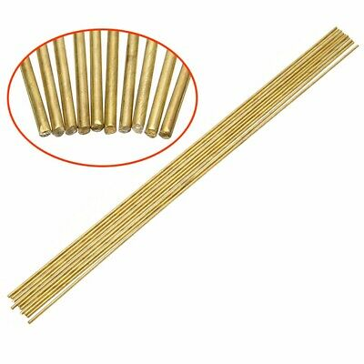 10pcs 1.6*250mm Brass Rods Wires Sticks For Repair Welding Brazing Soldering New • 4.67£