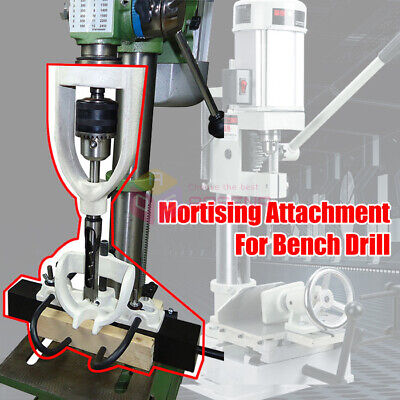 Bench Drill Mortising Locator For Tenoner Woodworking Square Boring Machine • 119.99£