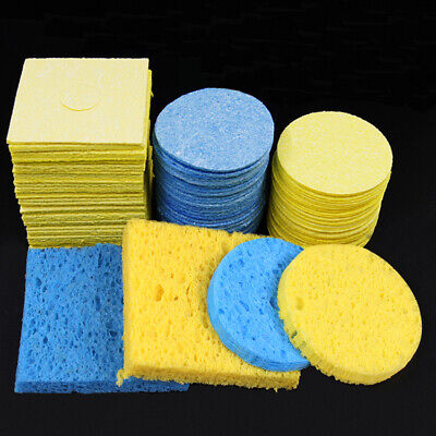 Cleaning Sponge For Soldering Iron High Temperature Resistant Thick Enduring • 2.39£