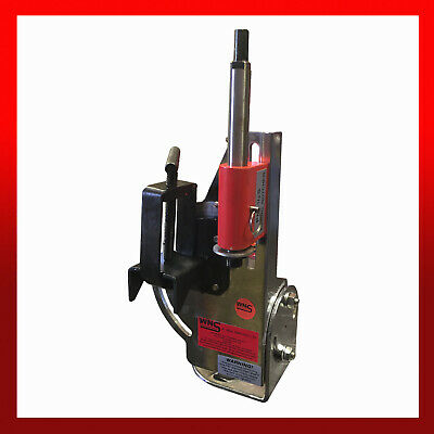 WNS Tube / Pipe Hole Saw Notcher Cutter 2  Capacity Stainless Steel Shaft (TN2) • 95£