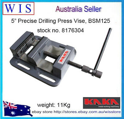 "5"" Drill Press Machine Vise, Precise Drilling Press Vise, BSM125,11Kg-8176304 • 43.75£"