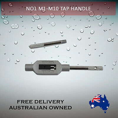 Adjustable Tap Handle T Type Reamer Wrench, Knurled Grip No1 M1 - M10    • 12.75£