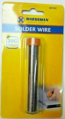 Solder Wire Flux Covered Electrical Soldering 20g Tube Tin Lead Diy Hobby 36c • 3.49£