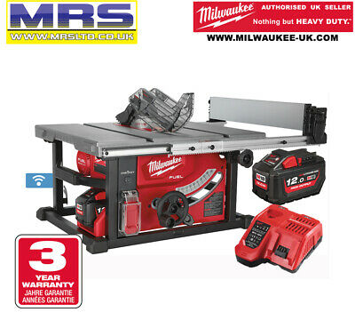MILWAUKEE M18FTS210-121B TABLE SAW KIT + 12.0Ah Battery & Charger - 4933464226 • 860£