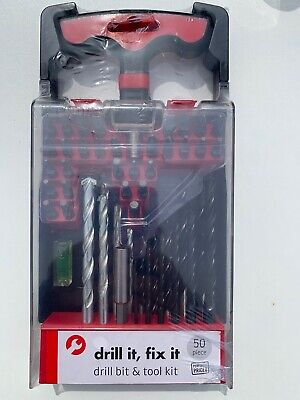 Drill Bit & Tool Kit 50 Pc And Screwdriver Bits 25 Pc Combination Brand-New • 3.95£