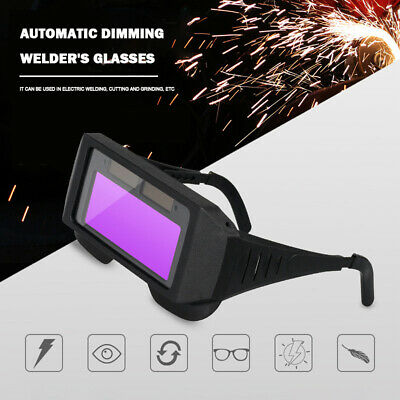 Automatic Dimming Goggles Argon Arc Welding Glasses For Welder Eye Protection • 8.60£