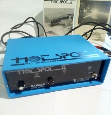 HOTSPOT II Heavy Duty Thermocouple Welder Very Good Condition Used Twice US Made • 299£