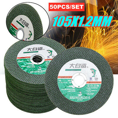 50Pcs 4 Inch Resin Metal Cutting Wheel Grinding Disc For Angle Grinder 16MM  • 27.34£