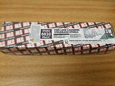 Stubs 6820 E316L Stainless Welding Electrodes X 4.0mm • 45£