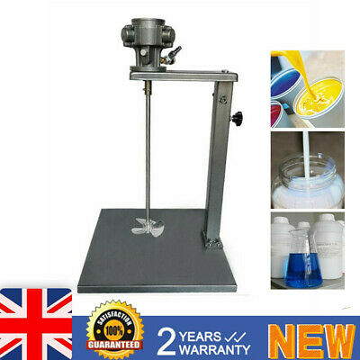 1/4 HP 20L 5 Gallon Pneumatic Paint Mixing Tool Blender Stirrer With Stand • 138£