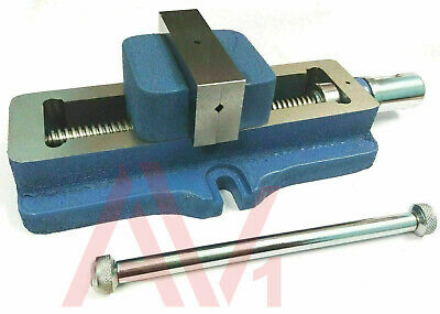 3  Self Centering Vice Low Profile Model Fixed Base 75mm Vise Premium Quality • 58.59£