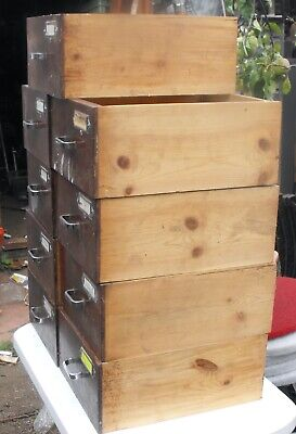X9 Cabinet Drawers (Engineers, Woodworking Bench)  • 45£