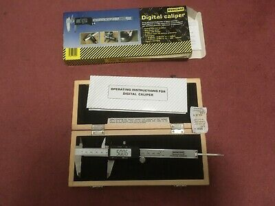 Metric & Imperial Digital Caliper For Outside, Inside And Depth Measurements • 10£