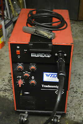 Murex Mig Welder Tradesman M 135   Great For Sheet Metal Swiss Made! • 320£
