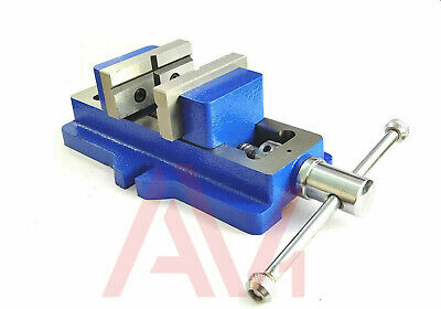 NEW SELF CENTERING VISE 50mm LOW PROFILE MODEL 2  INCH VICE CAST IRON FIXED BASE • 45.99£