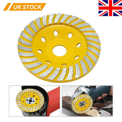 Diamond Grinding Cup Wheel 125mm Grinder Disc For Concrete, Marble, Granite UK • 15.92£