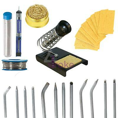 SOLDERING IRON TIPS/ACCESSORIES KITS Electrical Parts Cleaning Sets • 8.74£