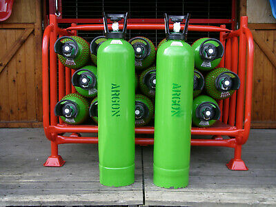 Argon HP (High Purity Gas Cylinder, 20litre Size, 200 Bar Fill* For Mig Welding. • 215£